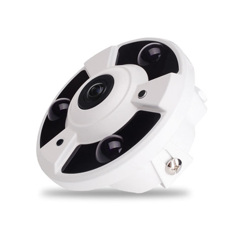 30M IR 4.0M Pixel HD-AHD 360 Deg Indoor Fisheye CCTV Camera