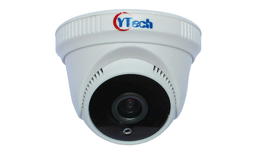 40M IR 1.3M Pixel HD Indoor Dome IP Camera with Audio