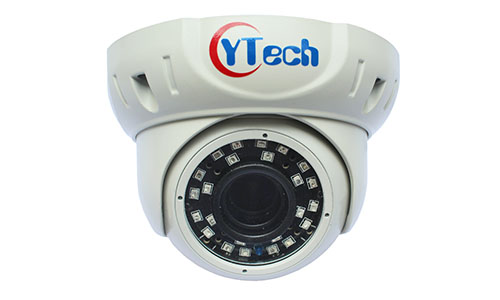40M IR 1.3M Pixel HD waterproof outdoor Dome IP Camera