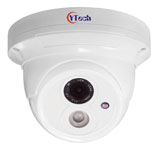 20M IR Waterproof 1.0M Pixel HD-AHD Dome Camera
