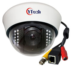 5.0M Pixels IR Dome Network Camera