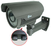 IZAC series IR Varifocal Waterproof Camera